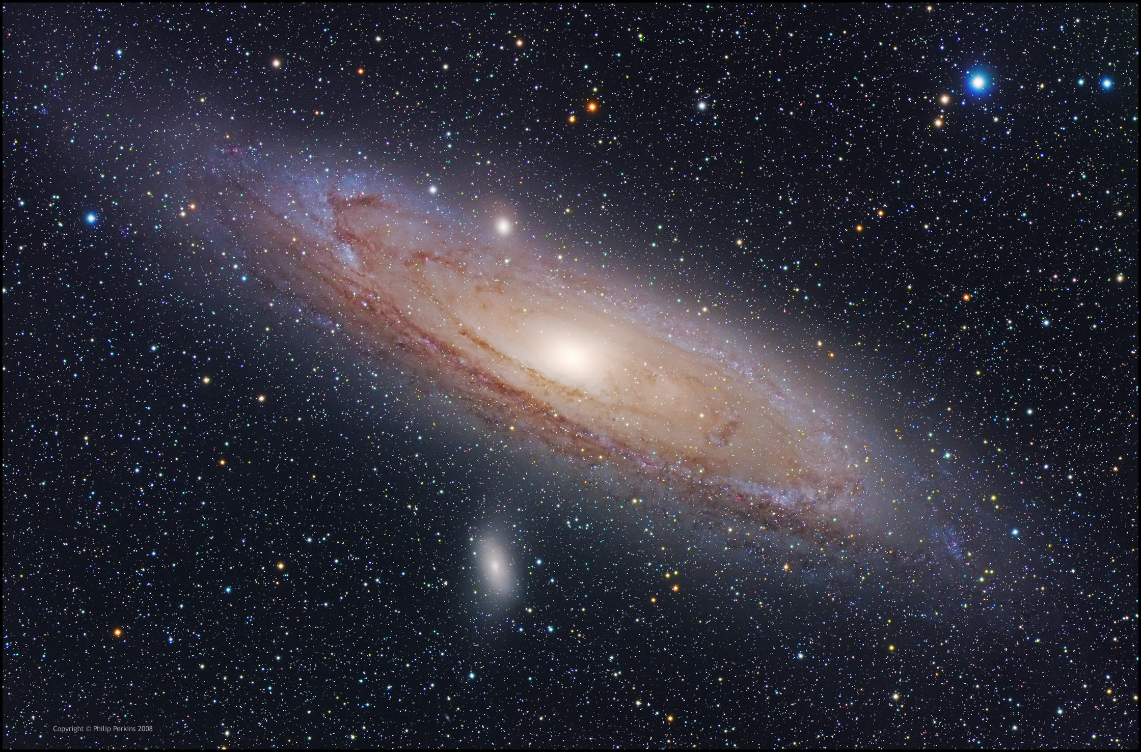 Andromeda Galaxy From Hubble - Pics about space